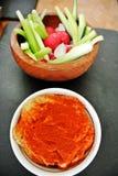 Перегной и овощ стоковое изображение