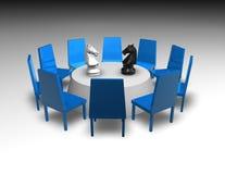 Переговоры, концепция деловой встречи Стоковые Изображения RF