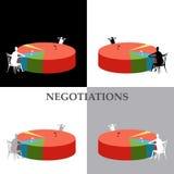 переговоры Стоковая Фотография