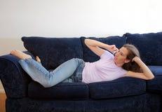 переговор сексуальный стоковая фотография rf