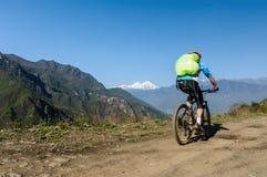Перегоните Mt Gongga Стоковые Изображения