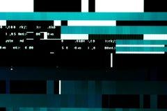 Перегружать видеокарту на компьютере glitches Стоковые Изображения