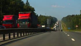 Перегруженность дорог стоковая фотография