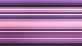 Передайте бары Высок-техника мерцания горизонтальные, пурпур, конспект, Loopable, 4K иллюстрация вектора