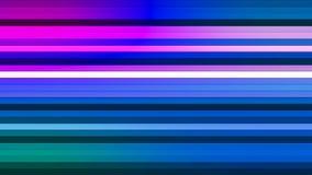 Передайте бары Высок-техника мерцания горизонтальные, Multi цвет, конспект, Loopable, 4K иллюстрация штока