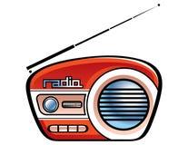 передайте диктора по радио бесплатная иллюстрация