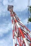 передача башни связи Стоковое Изображение
