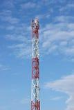 передача башни сотового телефона Стоковое фото RF