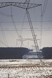 передача электропитания Стоковая Фотография