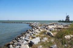 Передвижной залив в острове дофина Стоковое Изображение