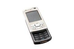 передвижной старый используемый телефон Стоковая Фотография RF