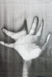 Передернутая ладонь руки Стоковая Фотография