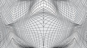 Передернутая поверхность иллюстрация вектора