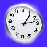 Передернутые конспектом часы времени стоковая фотография rf