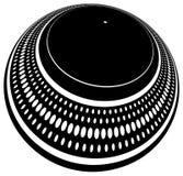 передернутый turntable плиты Стоковые Фотографии RF