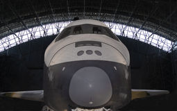 передний взгляд космоса челнока Стоковые Фотографии RF