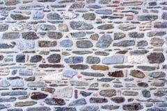 Передний всход стены masonry контраста каменной сделанной турецким мастером стены стоковое изображение rf