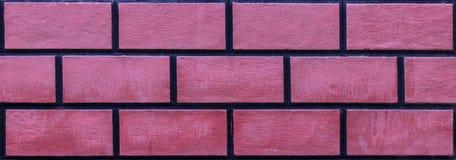 Передний всход ясной безшовной рыжеватой покрашенной текстуры кирпича masonry стоковое фото rf