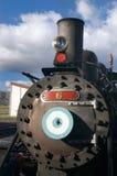 передний локомотивный старый пар Стоковые Фотографии RF