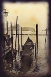 передний остров s venice гондолы giorgio Стоковое фото RF