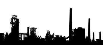 передний план промышленный Стоковая Фотография