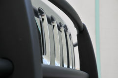 передний Хаммер решетки h3 Стоковая Фотография RF
