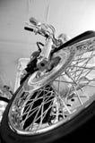 передняя автошина мотоцикла Стоковые Изображения