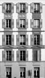 передняя дом много окон Стоковая Фотография RF