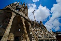 Передовица Sagrada передняя Стоковое фото RF