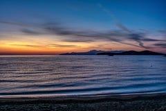 Перед восходом солнца Стоковое фото RF
