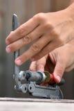 Перезаряжая патрон Стоковая Фотография RF
