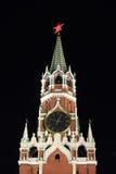 Перезвоны на главной башне Кремля Стоковое Изображение RF