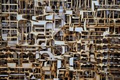 Переклейка отрезанная лазером Стоковые Фото