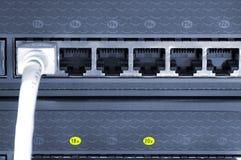 переключатель соединений стоковые изображения rf