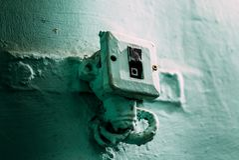 Переключатель электропитания стоковое изображение rf
