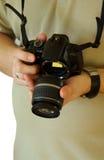 переключать объективов камеры цифровой Стоковое Изображение