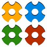Перекрестие/метка/перекрещение цели значки в цвете 4 бесплатная иллюстрация