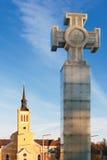 перекрестная вольность tallinn эстонии стоковая фотография rf