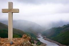 перекрестная гора Стоковая Фотография RF