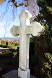 перекрестная могила Стоковая Фотография RF