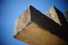 Перекрестная скульптура Стоковая Фотография