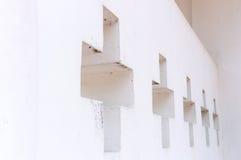 перекрестная стена стоковые фото