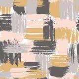 Перекрестная щетка штрихует безшовную смелейшую картину в ультрамодных цветах Arti бесплатная иллюстрация
