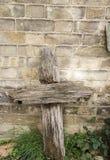перекрестное деревянное Стоковые Изображения