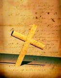 перекрестное святейшее Стоковые Фото