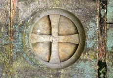 перекрестное templar стоковое изображение rf