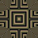 перекрестные приданные квадратную форму обои 3d Стоковые Изображения