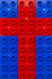 перекрестные legos Стоковое Фото