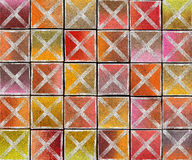 перекрестный абстрактный фон бирки брызга надписи на стенах 3d Стоковые Фото