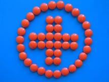 перекрестный красный цвет 2 Стоковые Изображения RF